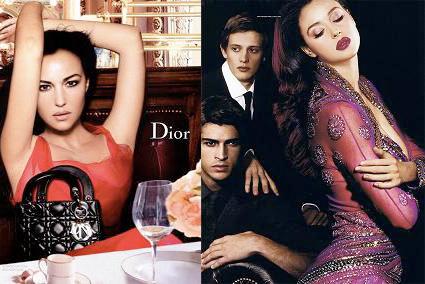Bellucci y MacConaughey se suman a la tendencia de ser la imagen de firmas de moda