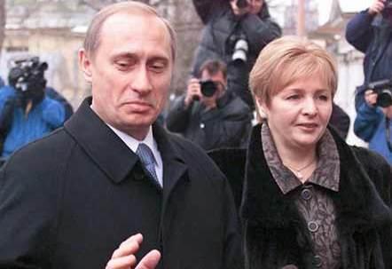 """""""Un beso. No para publicarlo"""", trata la historia de amor entre el presidente ruso Vladímir Putin y su esposa"""