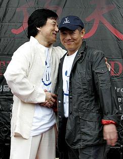 Jackie Chan y Jet Li