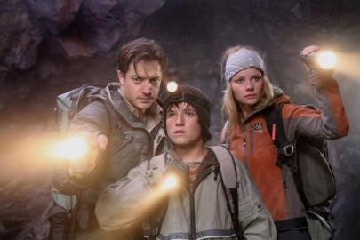 Brendan Fraser viaja al centro de la Tierra en tres dimensiones