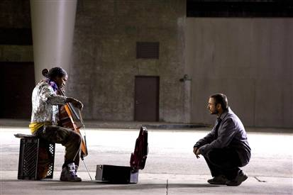 Trailer de «The Soloist», con Robert Downey Jr. y Jamie Foxx