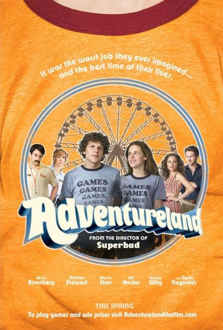 Trailer de «Adventureland», con Jesse Eisenberg, Kristen Stewart y Ryan Reynolds