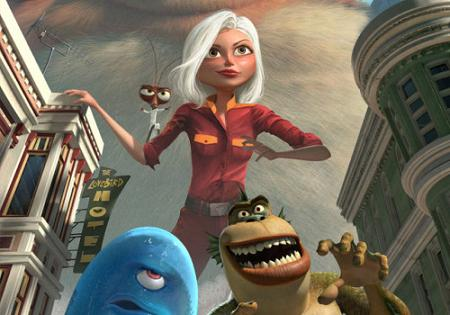 "Trailer de ""Monsters VS Aliens"", con las voces de Reese Witherspoon, Hugh Laurie y Will Arnett"
