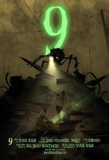 """Trailer de la película de animación """"9"""", con voces de Elijah Wood, Christopher Plummer y Martin Landau"""