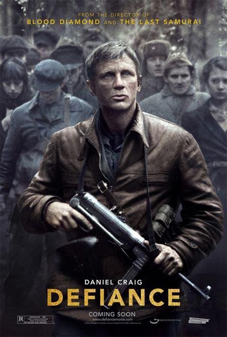 """Trailer de """"Defiance"""", con Daniel Craig, Liev Schreiber, y Jamie Bell"""