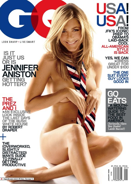 Jennifer Aniston posa ¿desnuda? en la revista GQ
