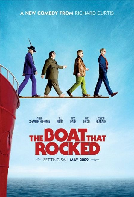 Trailer de «The Boat That Rocked», con Philip Seymour Hoffman, Kenneth Branagh y Bill Nighy