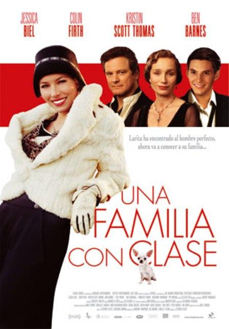 """Trailer de """"Una familia con clase"""", con Jessica Biel, Colin Firth, Kristin Scott Thomas"""