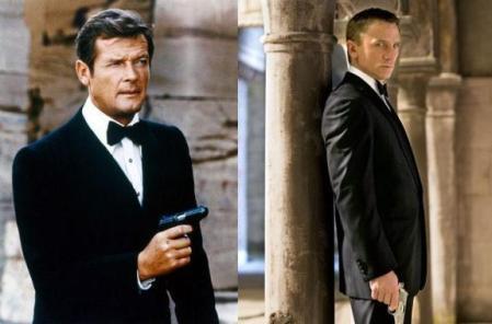 Roger Moore: Daniel Craig es un James Bond maravilloso