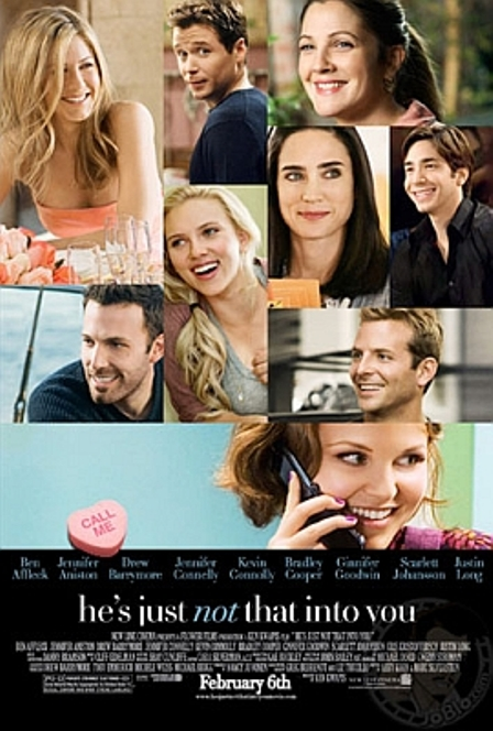 "Trailer de la película ""He's Just Not That Into You"", con Drew Barrymore, Justin Long, Scarlett Johansson, Jennifer Aniston y Ben Affleck"