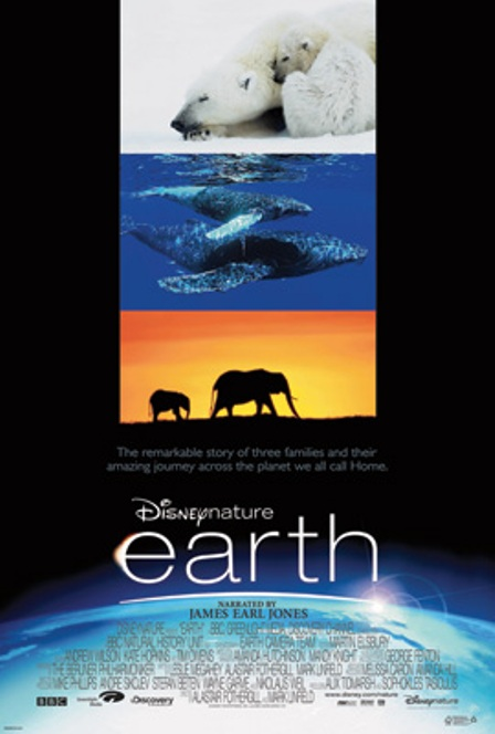 "Trailer del documental ""Earth"", de Disneynature, narrado por James Earl Jones"