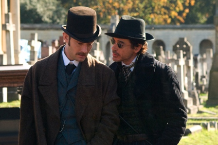 Primeras imágenes y video del backstage del Sherlock Holmes de Guy Ritchie