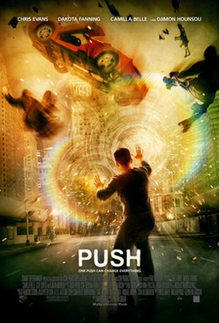 "Trailer de ""Push"" online, con Chris Evans, Dakota Fanning y Camilla Belle"