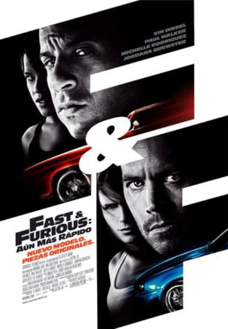 Trailer online de la película «Rápido y furioso: Aún Más Rápido», estreno 3 de abril