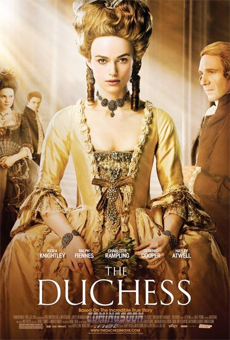 """Trailer online en español de la película """"La Duquesa"""", estreno 3 de abril"""