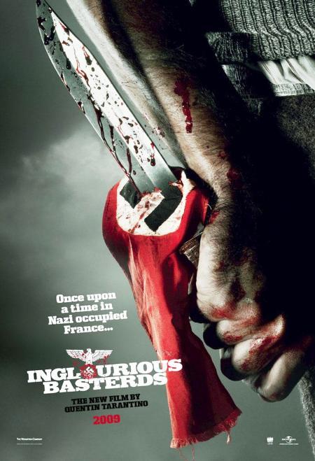 """Detrás de escenas de """"Inglourious Basterds"""", de Quentin Tarantino con Brad Pitt"""