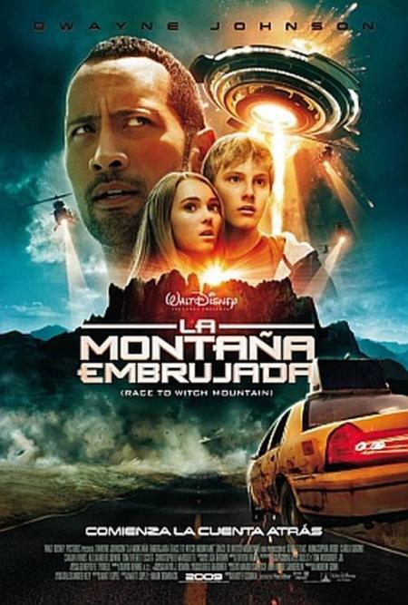 """Trailer online en español de la película """"La Montaña Embrujada"""", estreno 17 de abril"""