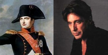 """Al Pacino interpretaría a Napoleón en """"Betsy y el Emperador"""""""