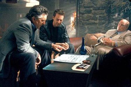 Robert De Niro y Edward Norton juntos otra vez