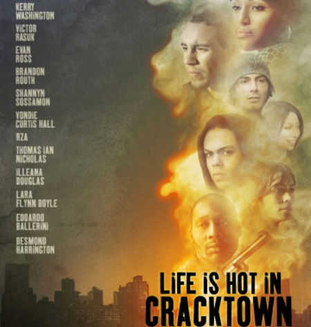 Trailer online de la película «Life is hot in Cracktown», con Kerry Washington, Evan Ross y Victor Rasuk