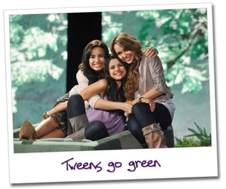 Miley Cyrus, Selena Gomez y Demi Lovato en video para la campaña «Disney's Friends for Change»