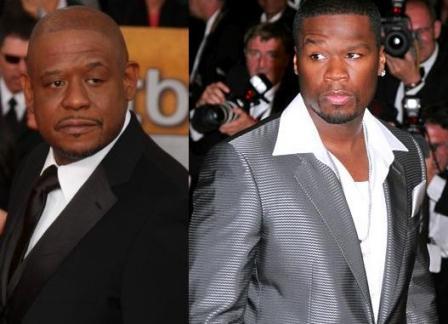 50 Cent junto a Forest Whitaker en «El Extraño Caso del Dr. Jeckyll y Mr. Hyde»