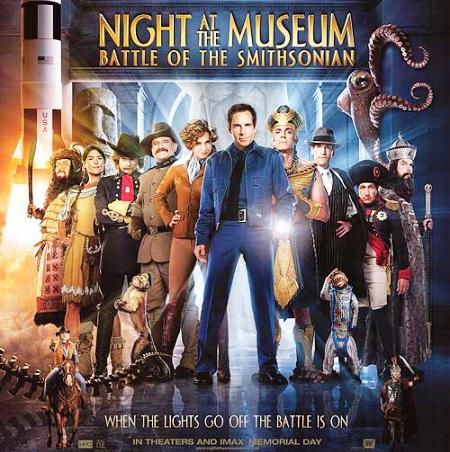 """Trailer online subtitulado de la película """"Noche en el Museo 2"""", estreno 22 de mayo"""