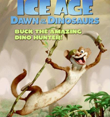 Mira el clip de «La Era del Hielo: El Amanecer de los Dinosaurios», que presenta a Buck, nuevo personaje