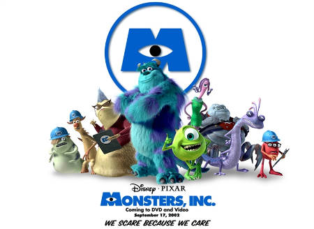 "Disney/Pixar trabaja en una secuela de ""Monsters, Inc."""