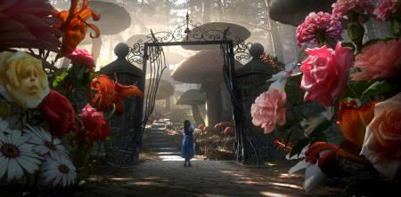 Primeras imagenes de «Alicia en el País de las Maravillas», de Tim Burton