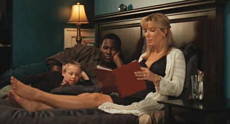 Trailer online de la película 'The Blind Side', con Sandra Bullock y Quinton Aaron