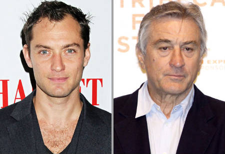 Jude Law - Robert De Niro