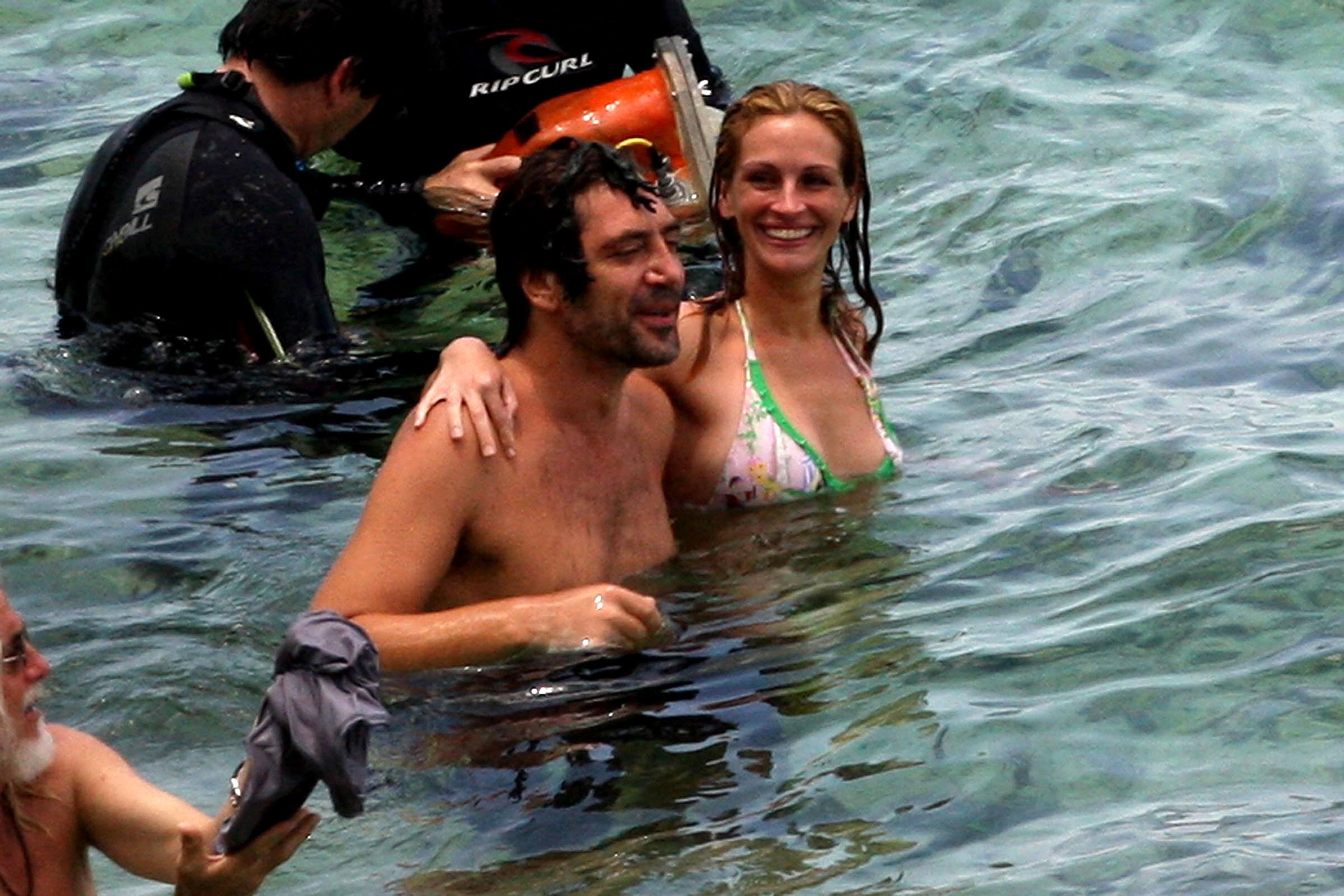 Julia Roberts en bikini con Javier Bardem | Galería de fotos