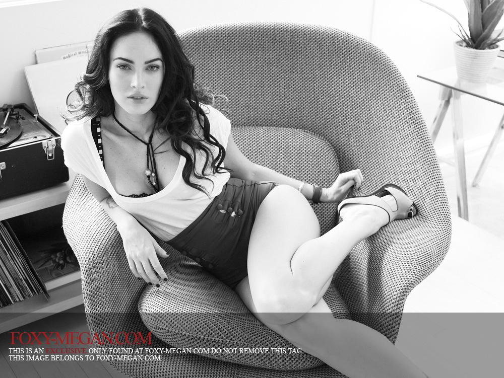 Megan Fox en Rolling Stone. Galería de tomas de fotos