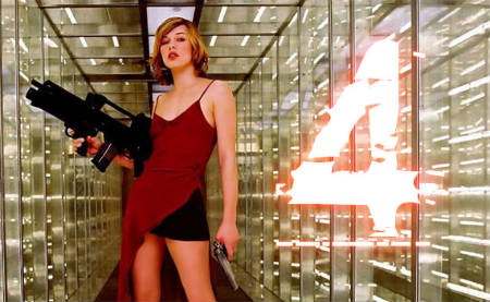 Resident Evil 4 Afterlife - Milla Jovovich