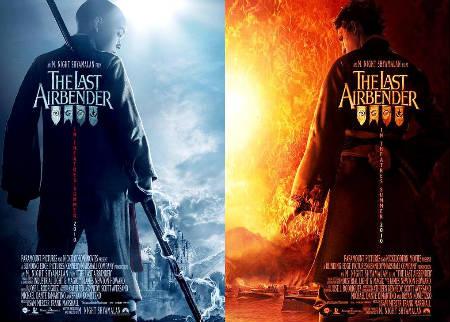 Presentan pósters oficiales de la película The Last Airbender