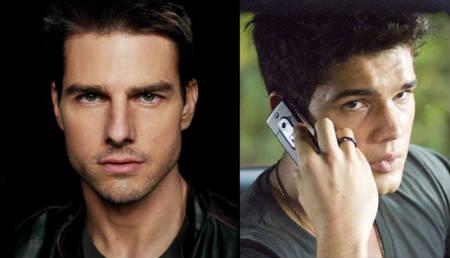 Desmentido, Tom Cruise no será el padre de Taylor Lautner en Northern Lights