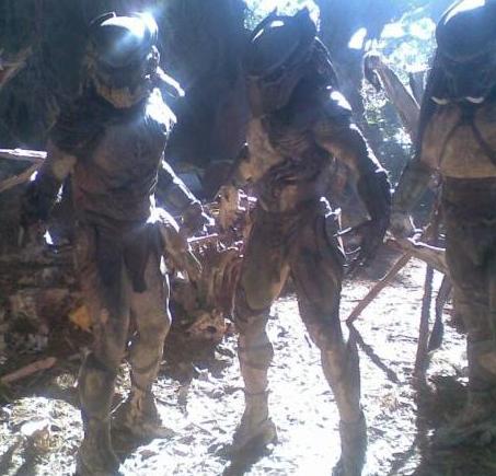 Primeras fotos de «Predators» con Adrien Brody y Laurence Fishburne
