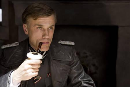 Christoph Waltz como el Coronel Hans Landa en Malditos Bastardos