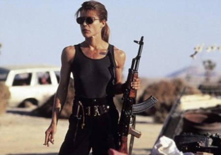 Linda Hamilton disconforme con Terminator Salvation
