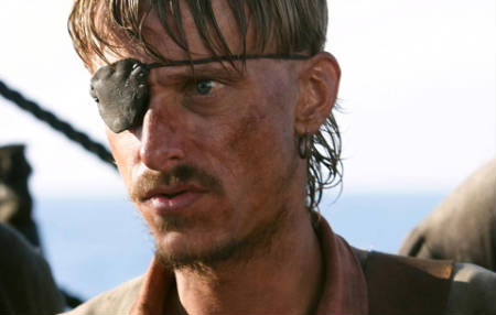 Mackenzie Crook no estará en Piratas del Caribe 4