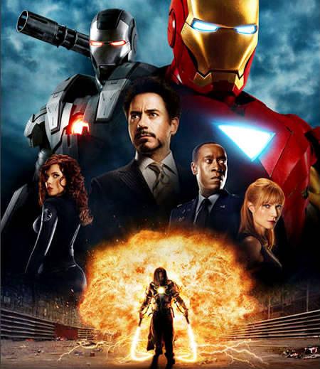 Nuevo póster de Iron Man 2 con los Villanos y Vigilantes