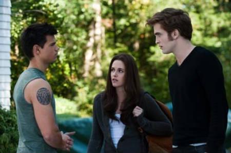 Robert Pattinson, Kristen Stewart & Taylor Lautner - Eclipse