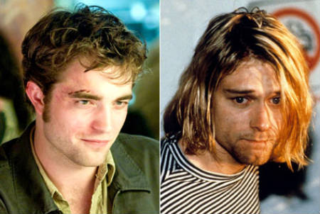 Robert Pattinson será Kurt Cobain en una biografía producida por Courtney Love