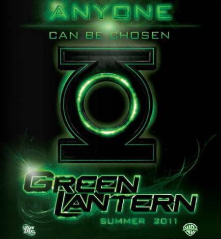 Primer cartel oficial de la película Linterna Verde