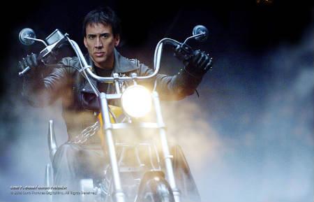 """Nicolas Cage firma para protagonizar """"Ghost Rider 2"""""""