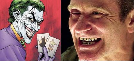 Robin Williams tras el papel de El Guasón en la próxima Batman