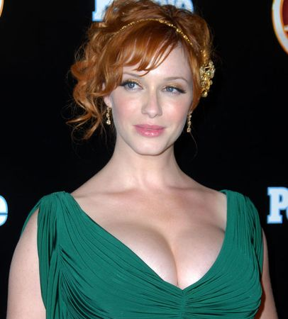 Christina Hendricks quiere ser Wonder Woman