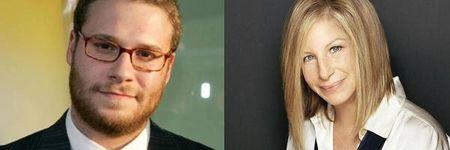 Seth Rogen y Barbra Streisand juntos en una comedia