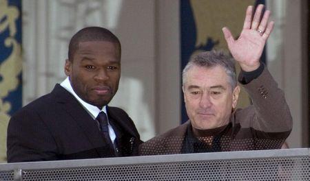 Robert De Niro colaborará con 50 Cent en nueva película